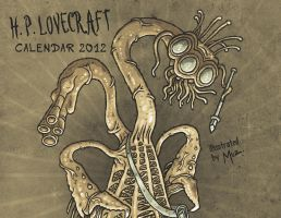 H.P. LOVECRAFT calendar by muzski