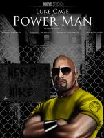 Luke Cage Power Man Movie Poster by Wild-Theory