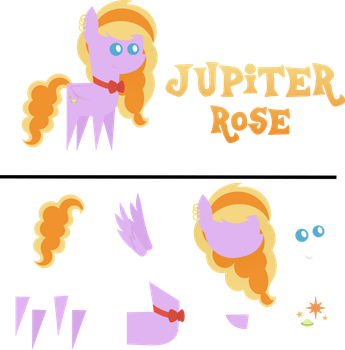 Pointy Pony: Jupiter Rose by MyPaintedMelody