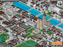 Pixeled City of London - Ghost Control Inc. by BumblebeeGames