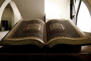 Giant holy quran by hajasghar