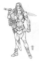 Tala the Barbarian by Everwho