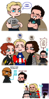 AVENGERS -Sexy grandparents- by vtophya