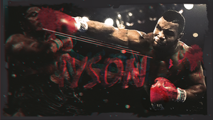 Mike tyson tag by raganus