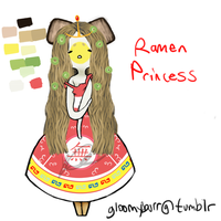 ASK Ramen Princess by SlimyScaledSpider