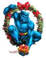 X-Mas Beast from Ray Lago Sketch by quibly