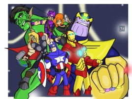 The Avengers by iJayDeath