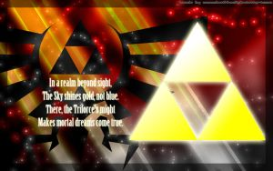 Triforce Wallpaper version 1 by DeathHack