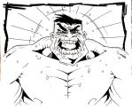 angry hulk by smifink