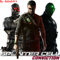 Splinter Cell Conviction icon by Ashish913 by Ashish-Kumar