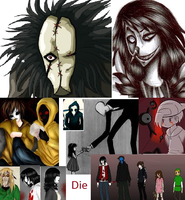 Creepypasta mash up by GermanyBeilschmidt