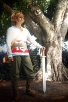 Link Skyward Sword 13 by JustBeFriend