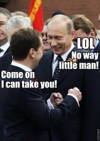 Putin Vs. Medvedev by vote-tennant