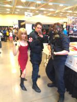 NF Comicon : Me, Ada Wong, Umbrella Troop by TheWarRises