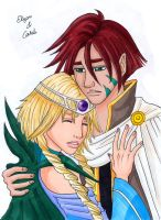 Caleb and Elyon WITCH by Valaquia
