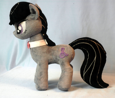 Octavia Plushie left side by WhiteHeather