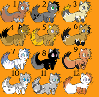 Cat point adoptables 2 by Icey-adopts