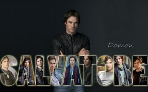 Damon Salvatore by Coley-sXe