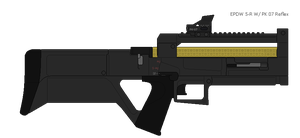EPDW 5-R with PK 07 Reflex by Sapphire-industries
