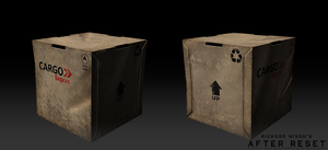 After Reset RPG models CARGO BOX by blackcloudstudios