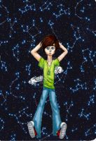 Constellations Boy Plus Rabbits by TheLuckyStarhopper