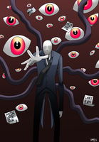 Slenderman by MangleDangle