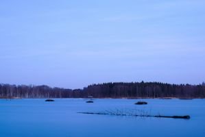 Blue dusk by perost