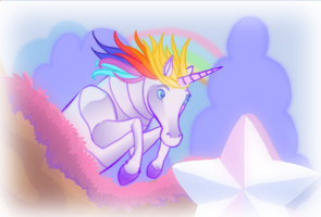 ROBOT UNICORN by Nikepz