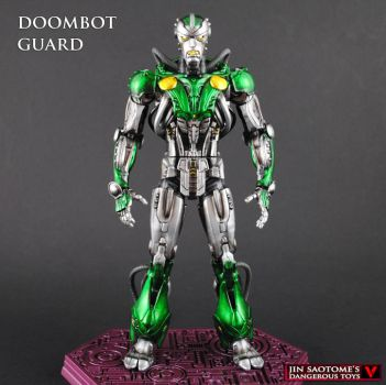 Marvel Legends Doombot Guard custom figure by Jin-Saotome