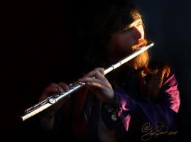 The Flutist by ForeverCreative
