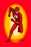 The Flash by Stone-Fever