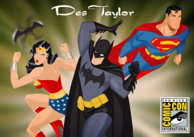 Des Taylor at San Diego Con by DESPOP