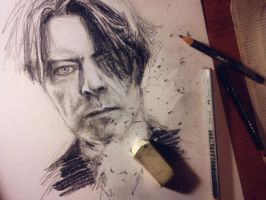 David Bowie by DeniseEsposito