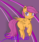 Scootaloo by Lustrous-Dreams