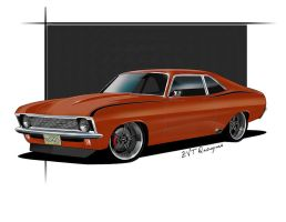"1970 Nova ""Project NoGO"" by zvtdesigns"