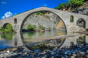 Old Stone Bridge  by Rikitza