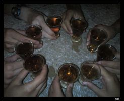 The alcohol circle by 3enzo
