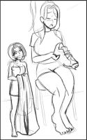 Hannah's Comic Preview Image 2-3 Detailed Lines by Pettyexpo