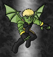 Mini Marvels - Hulkling by ZappaZee