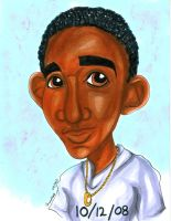 Caricature Commission 081611 by raccoon-eyes