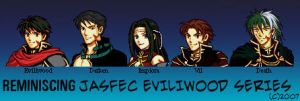 Reminiscing Eviliwood Series by yami-joey