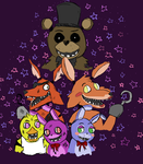 Five Nights At Freddy's by SabbyK