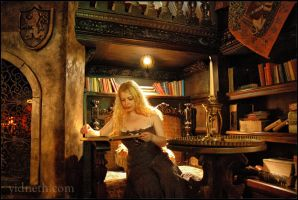 enchanted library... I believe in fairy tales by yidneth