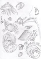DN - FIRST DAY Scribbles 09' by Deathnotedfan