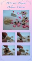 Patisserie Polymer Charms by LightningMcTurner