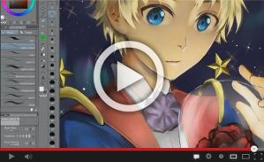 [VIDEO PROCESS] The Little Prince - Ma rose by Nekozumi