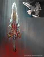 Ares Sword by Raggedy-Annedroid