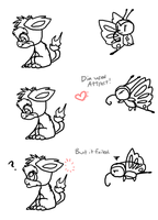 Misfits 12 - Flirting = not very effective by DragonwolfRooke