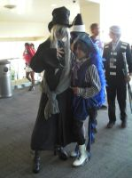 SacAnime Cosplay: Undertaker and Ciel by wolfforce58