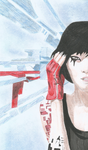 Faith Connors (Mirror's Edge) by danonymgs3